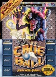 Crue Ball - Genesis Game