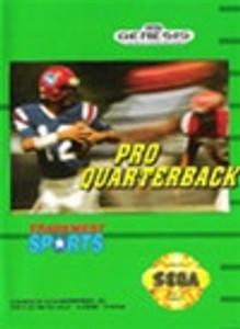 Pro Quarterback - Genesis Game