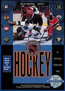NHL Hockey - Genesis Game