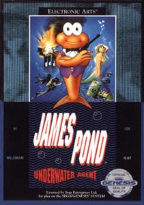 James Pond Underwater Agent - Genesis Game