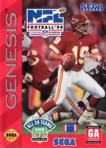 NFL Football 94 - Genesis Game
