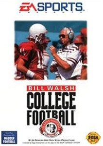 Bill Walsh College Football - Genesis Game