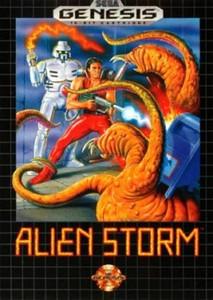 Alien Storm - Genesis Game
