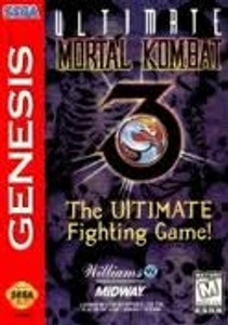Ultimate Mortal Kombat 3 - Genesis Game