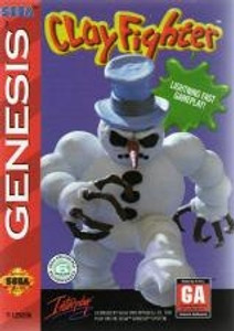 Clay Fighter - Genesis Game