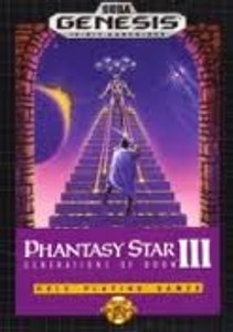 Phantasy Star III - Genesis Game