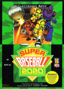 Super Baseball 2020 - Genesis Game