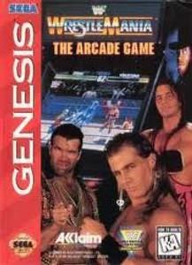 WWF Wrestlemania Arcade - Genesis Game