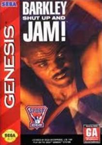 Barkley Shut Up and Jam - Genesis Game