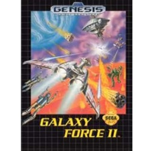 Galaxy Force II - Genesis Game