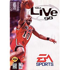 NBA Live 98 - Genesis Game