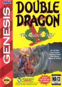 Double Dragon V - Genesis Game