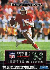 Sports Talk Football 93 - Genesis Game