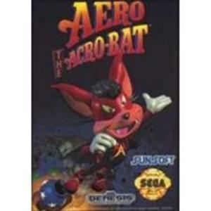 Aero the Acrobat - Genesis Game