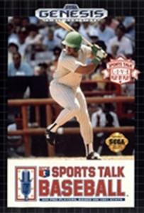 Sports Talk Baseball - Genesis Game