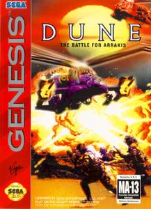 Dune The Battle for Arrakis - Genesis Game