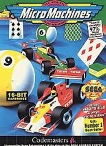 Micro Machines - Genesis Game