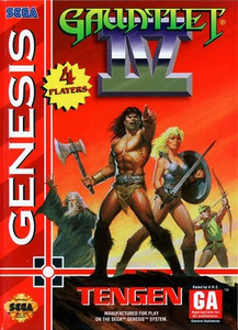 Gauntlet IV 4 - Genesis Game