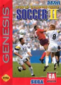 World Championship Soccer II - Genesis Game