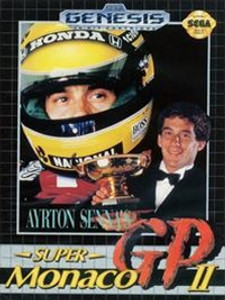Ayrton Sennas Super Monaco GP II - Genesis Game