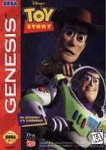 Toy Story, Disney's - Genesis Game
