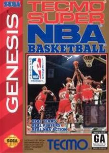 Tecmo Super NBA Basketball - Genesis Game