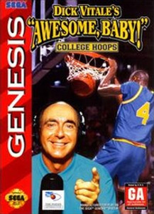Dick Vitale's Awesome Baby College Hoops - Genesis Game