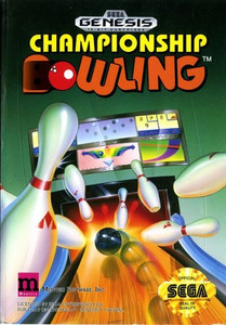 Championship Bowling - Genesis Game