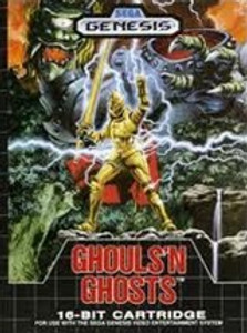 Ghouls n Ghosts - Genesis Game