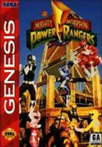 Mighty Morphin Power Rangers - Genesis Game