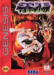 Sub Terrania - Genesis Game