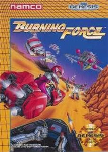 Burning Force - Genesis Game