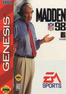 Madden 98 - Genesis Game