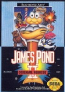 James Pond II Code Name Robocod - Genesis Game