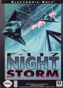 F117 Night Storm - Genesis Game