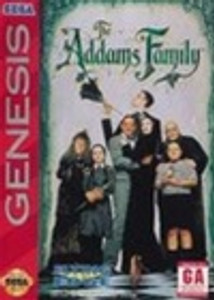 Addams Family, The - Genesis Game