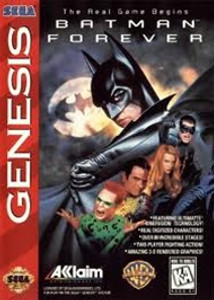 Batman Forever - Genesis Game