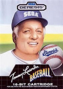 Tommy Lasorda Baseball - Genesis Game