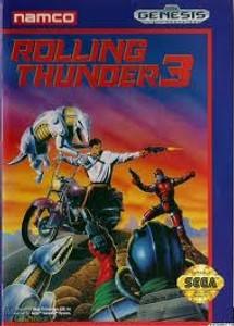 Rolling Thunder 3 - Genesis Game