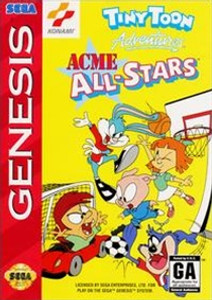 Acme All-Stars, Tiny Toon Adventures - Genesis Game