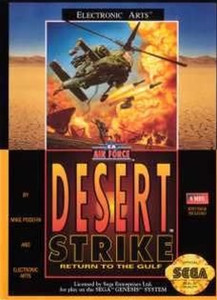 Desert Strike - Genesis Game