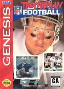Troy Aikman NFL Football - Genesis Game