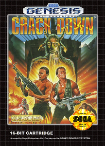 Crack Down - Genesis Game