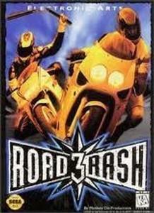 Road Rash 3 - Genesis Game