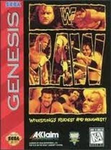WWF Raw - Genesis Game