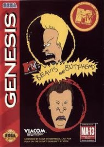 MTV's Beavis and Butt-head - Genesis Game