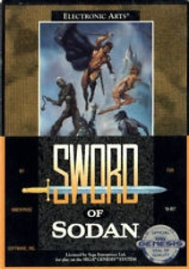 Sword of Sodan - Genesis Game