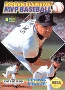 Roger Clemens MVP Baseball - Genesis Game