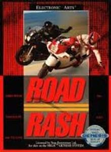 Road Rash - Genesis Game