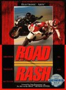 Road Rash - Genesis Game